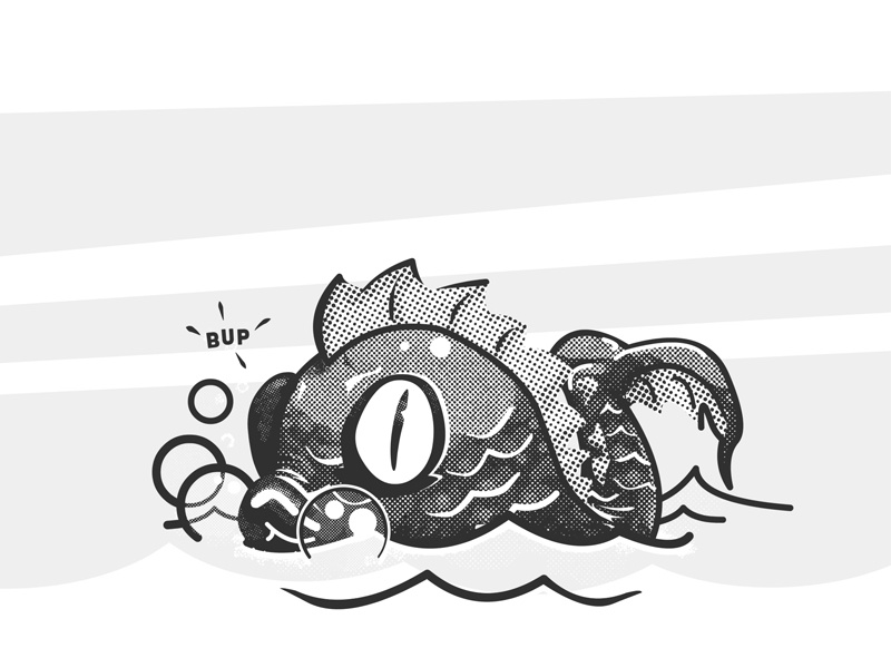 Lil\' Leviathan by Vanion Paradis on Dribbble.