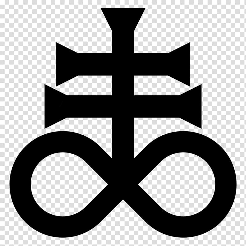 Black and grey symbol, T.