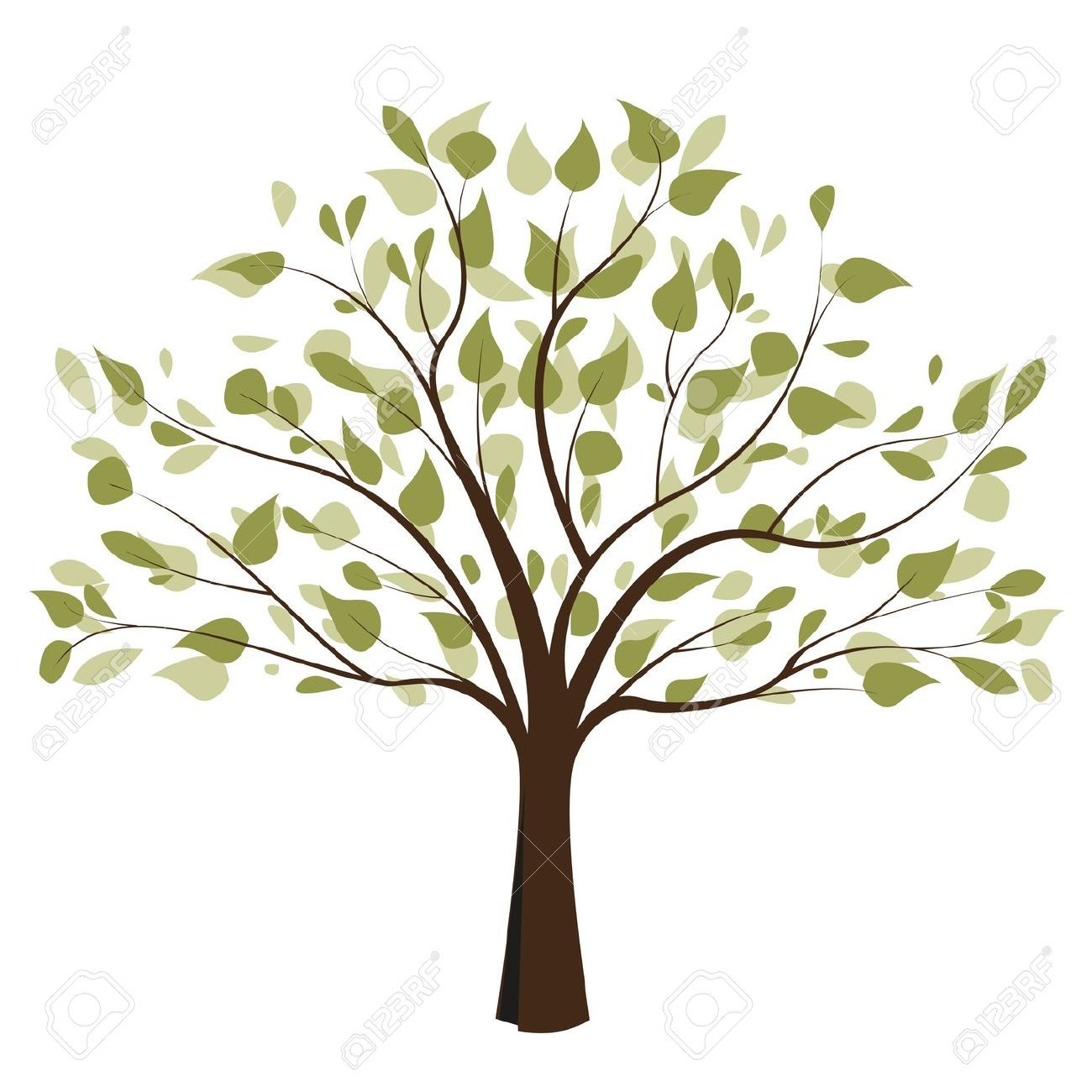 Tree Of Life Black And White Clipart.
