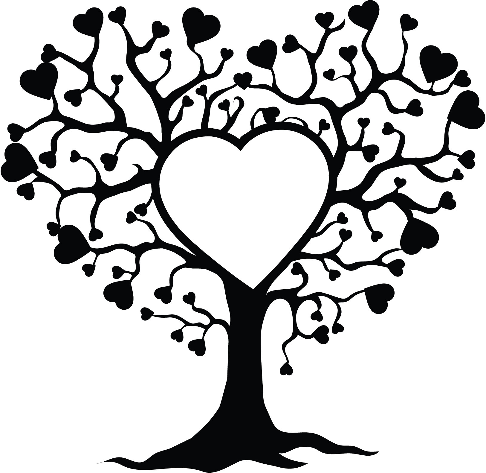 Tree of life clipart black and white » Clipart Station.