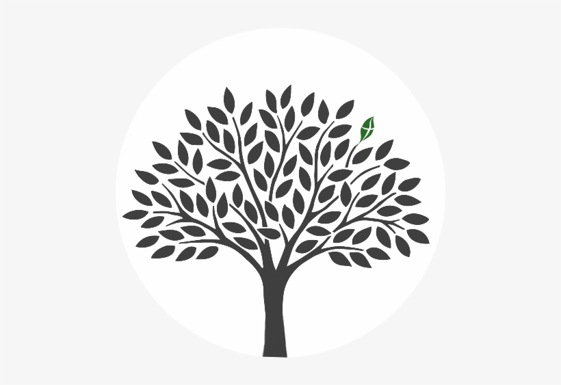 Vector Clipart Tree Of Life Black And White.