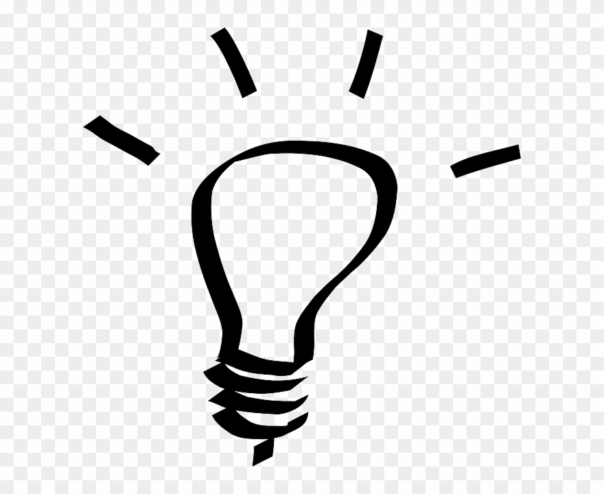 Idea Clipart Lighbulb.
