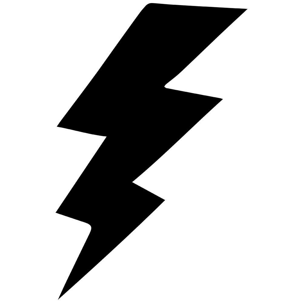 Black And White Lightning Bolt Clipart Best.