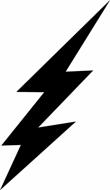 Lightning bolt clipart 2.