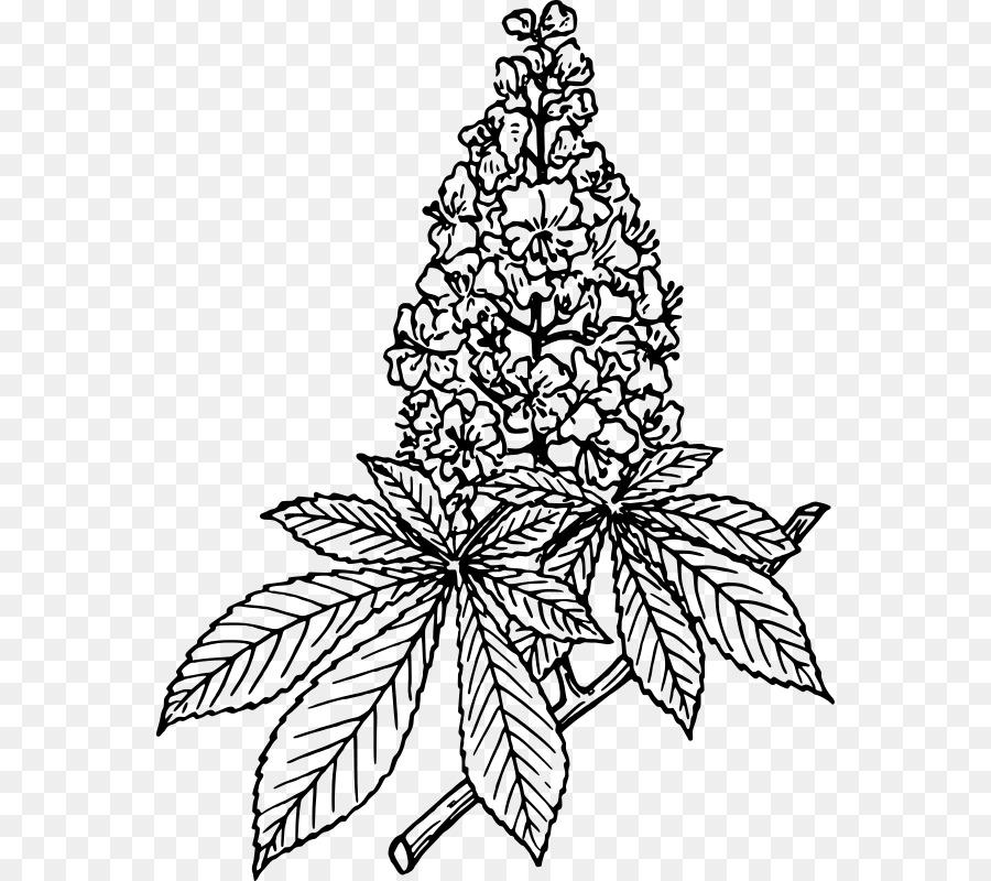 Christmas Tree Line Drawing.