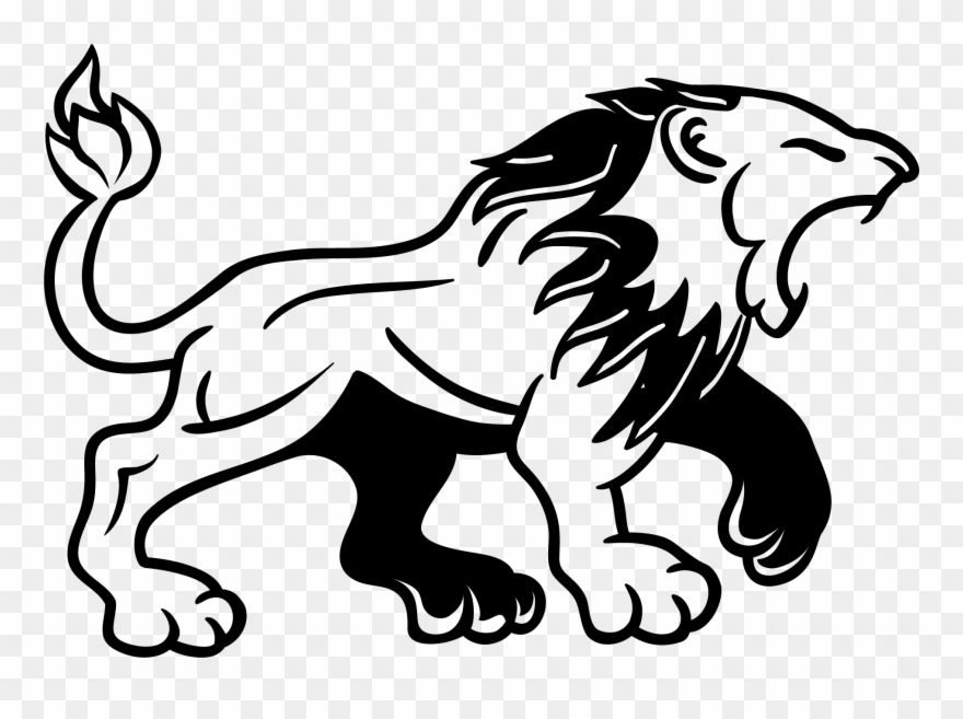 Lion Tattoo Clipart Png Image.