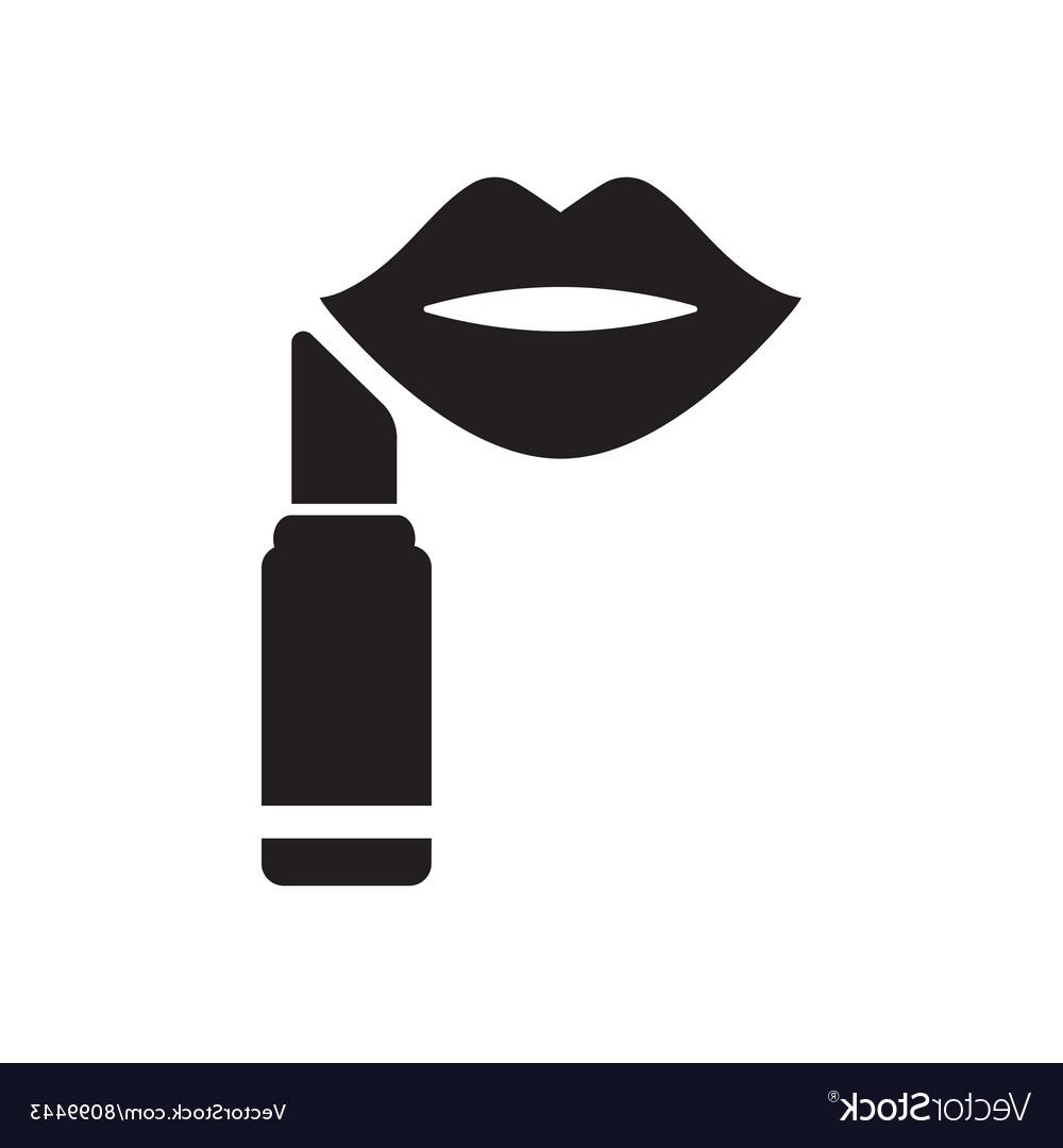 Best HD Vector Black And White Lips Vector Design » Free.