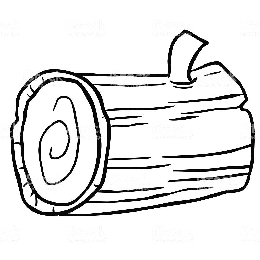 Clipart black and white log 3 » Clipart Station.
