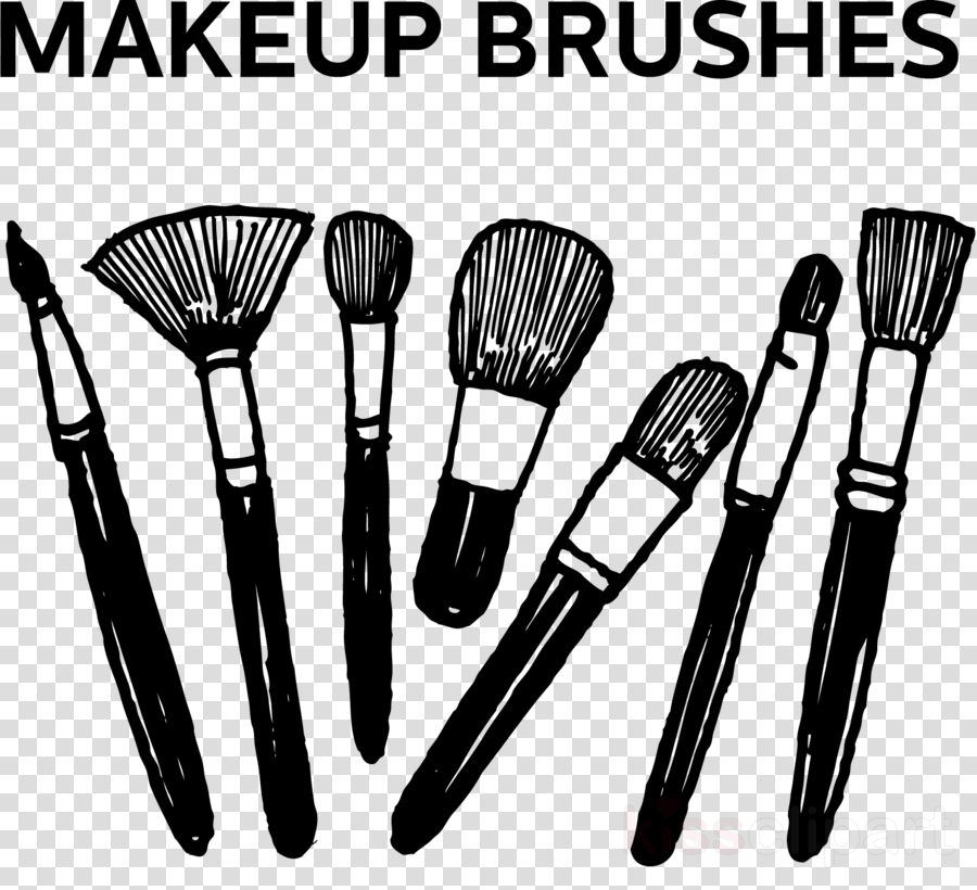 brush makeup brushes tool cosmetics black.