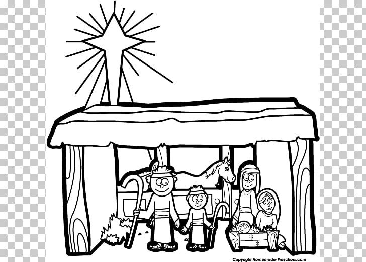 Nativity scene Nativity of Jesus Christmas , Nativity Black.