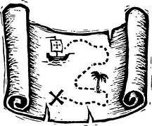 Map clipart black and white » Clipart Station.