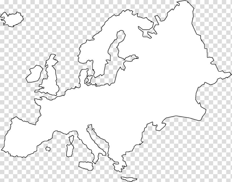 White geographic map illustration, Europe United States.