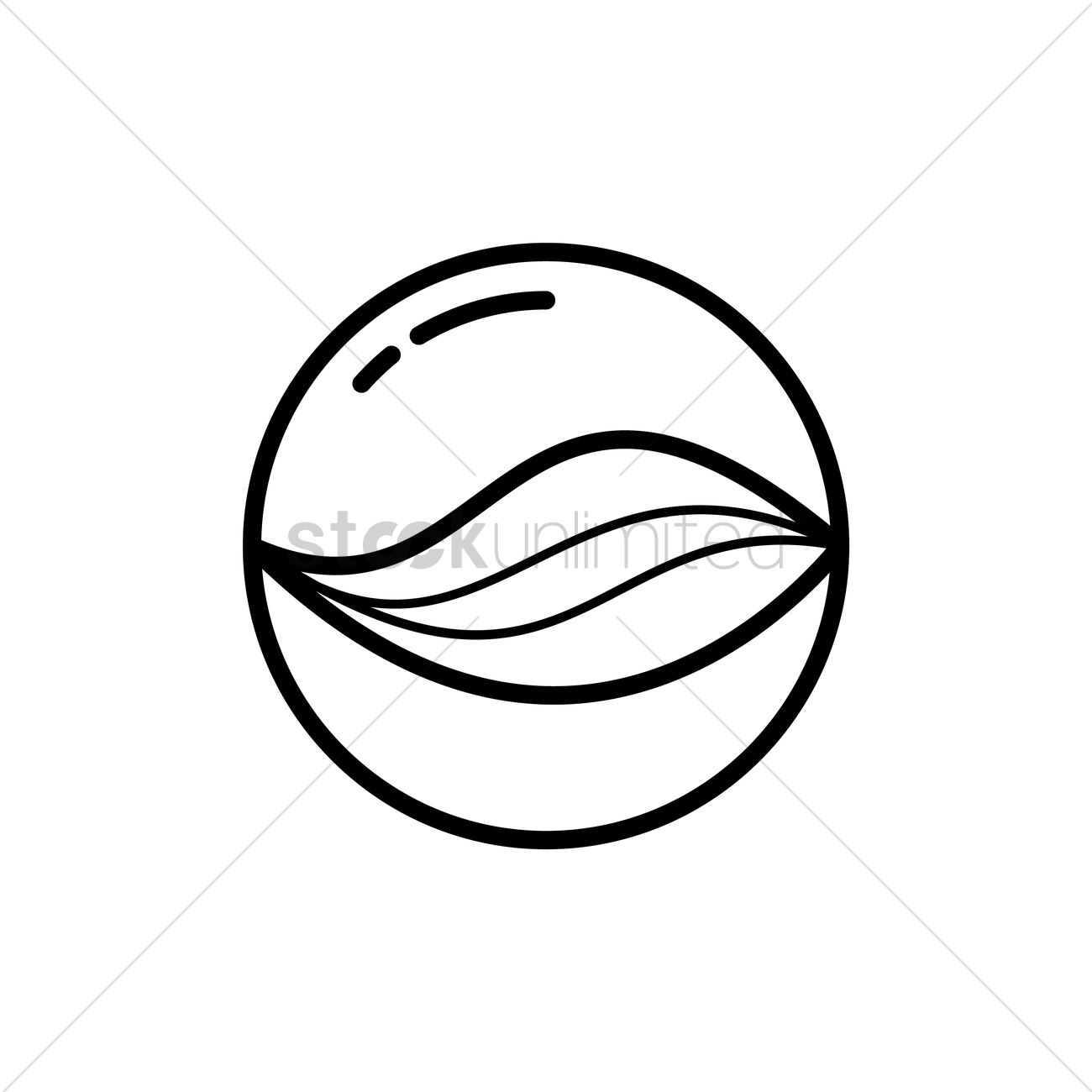 Marble clipart black and white.