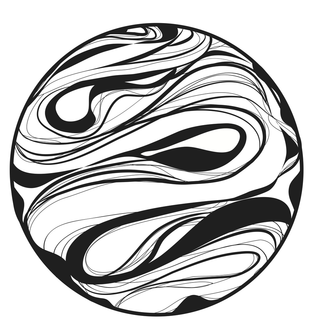 Marbles Clip Art : Black and white marble clipart clipground