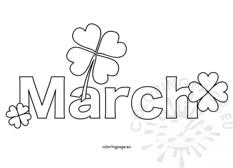 Free Month March.