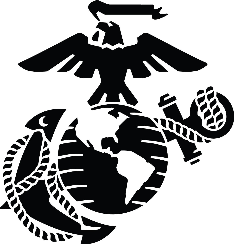 Free Marine Logo Black And White, Download Free Clip Art.