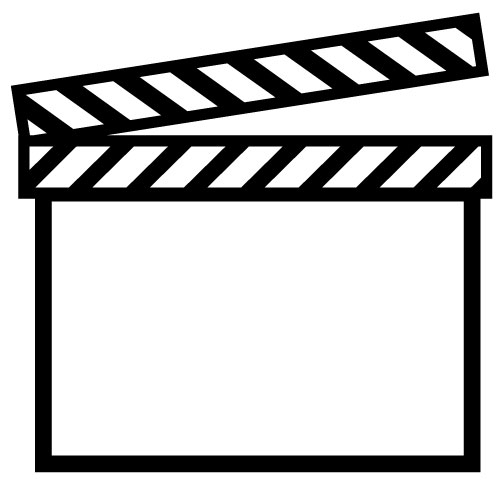 Movie Marquee Clipart Black And White.