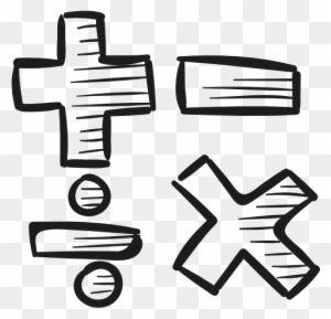 Download Free png Math Symbols Black And White Clip Art Download.