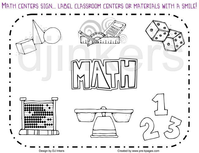 Math Border Clipart Black And White Math border clip art math.