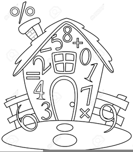 Free Black And White Math Clipart.