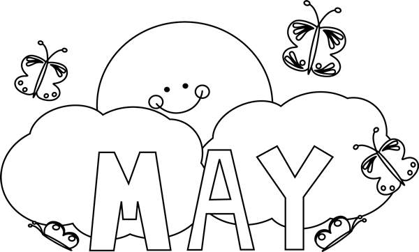 Free May Black And White Clipart, Download Free Clip Art.
