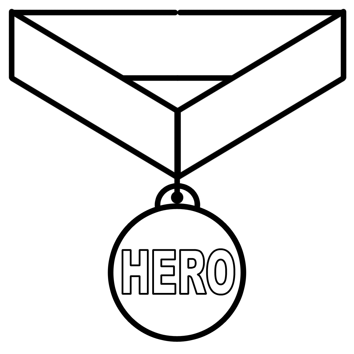 Medal clipart black and white 3 » Clipart Station.