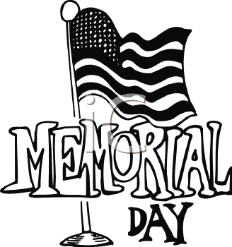 Best Memorial Day Clip Art Black And White Images, Pictures.