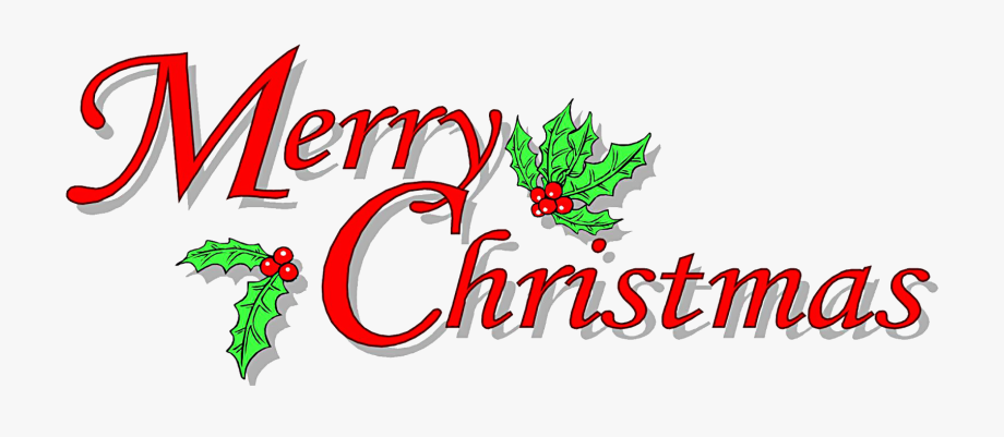 Free Merry Christmas Clipart Images Black And White.