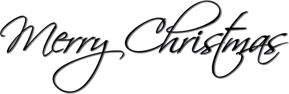 Merry christmas clipart black and white » Clipart Portal.