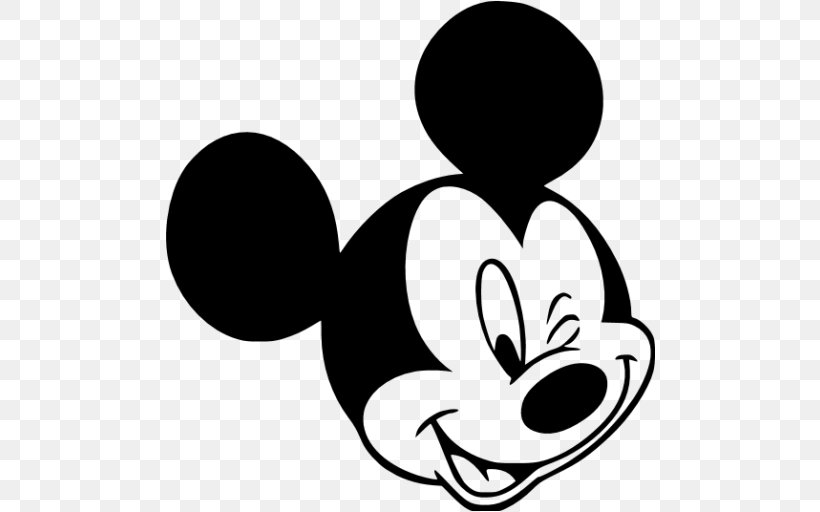 Mickey Mouse Minnie Mouse Black And White Clip Art, PNG.
