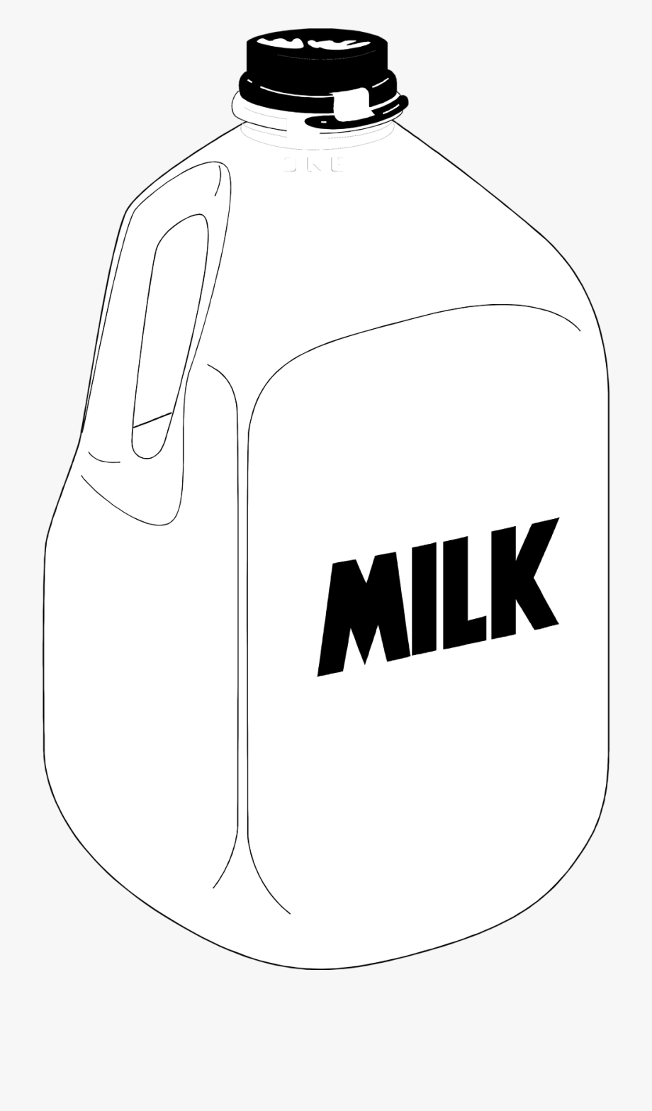 Pint Of Milk Clipart Kid.