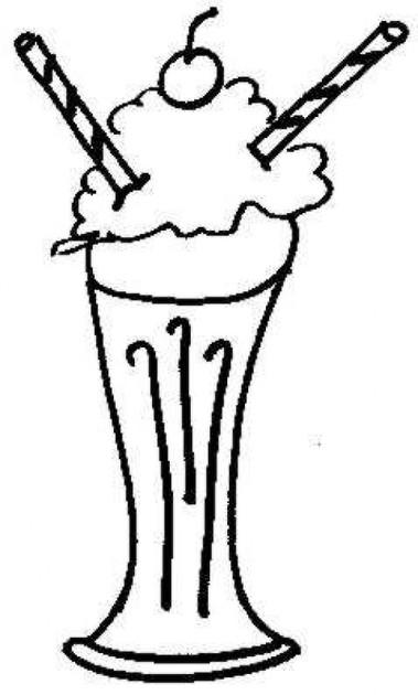 Milkshake Drawing at GetDrawings.com.