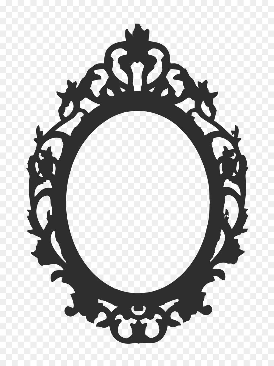 Black And White Frame.