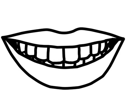 black and white mouth clipart 10 free Cliparts | Download ...