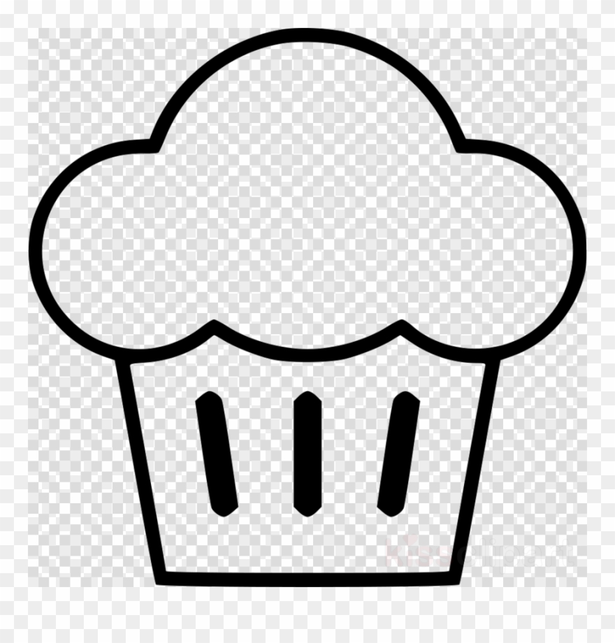 Muffin Clip Art Black And White Clipart American Muffins.