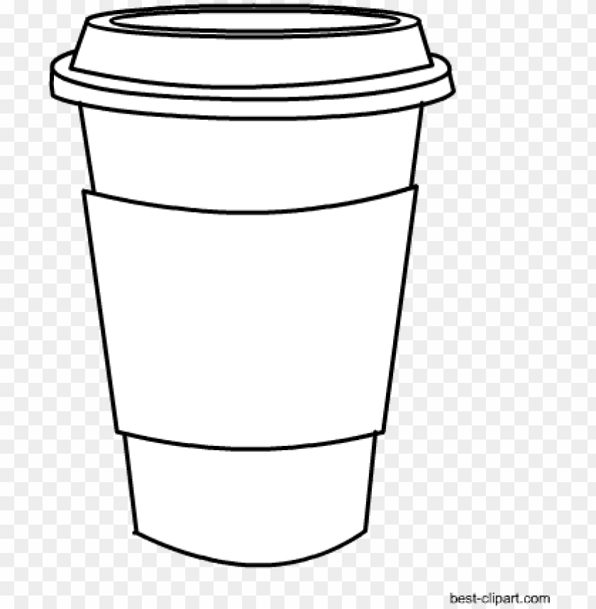 black and white coffee mug clip art free.