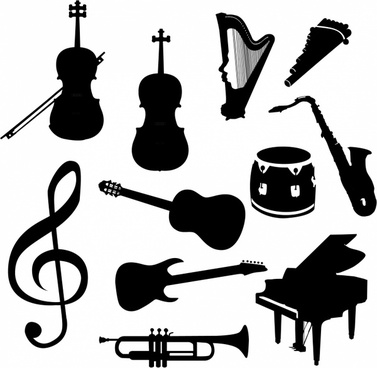 Musical instrument clip art free vector download (221,237.