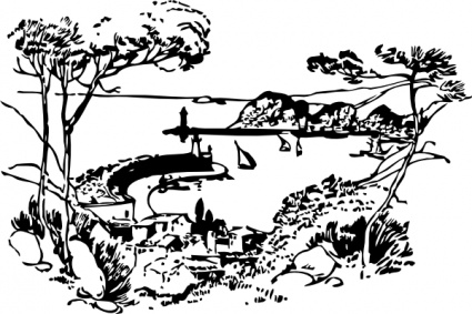 Free Free Nature Clipart Black And White, Download Free Clip.
