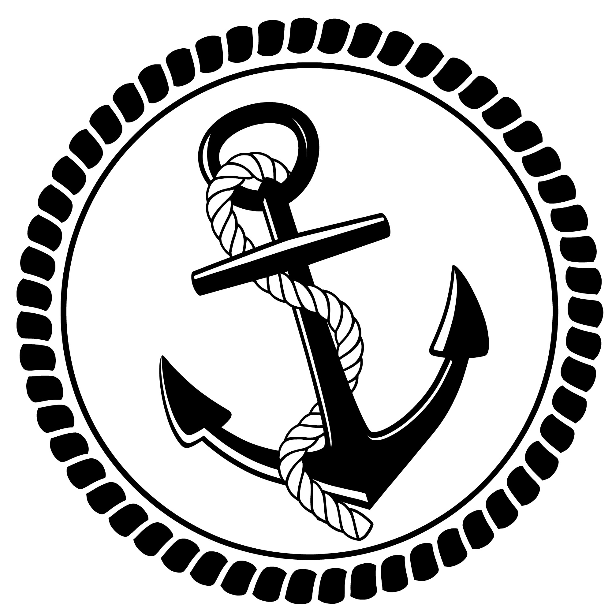 Free Nautical Clipart Black And White, Download Free Clip.