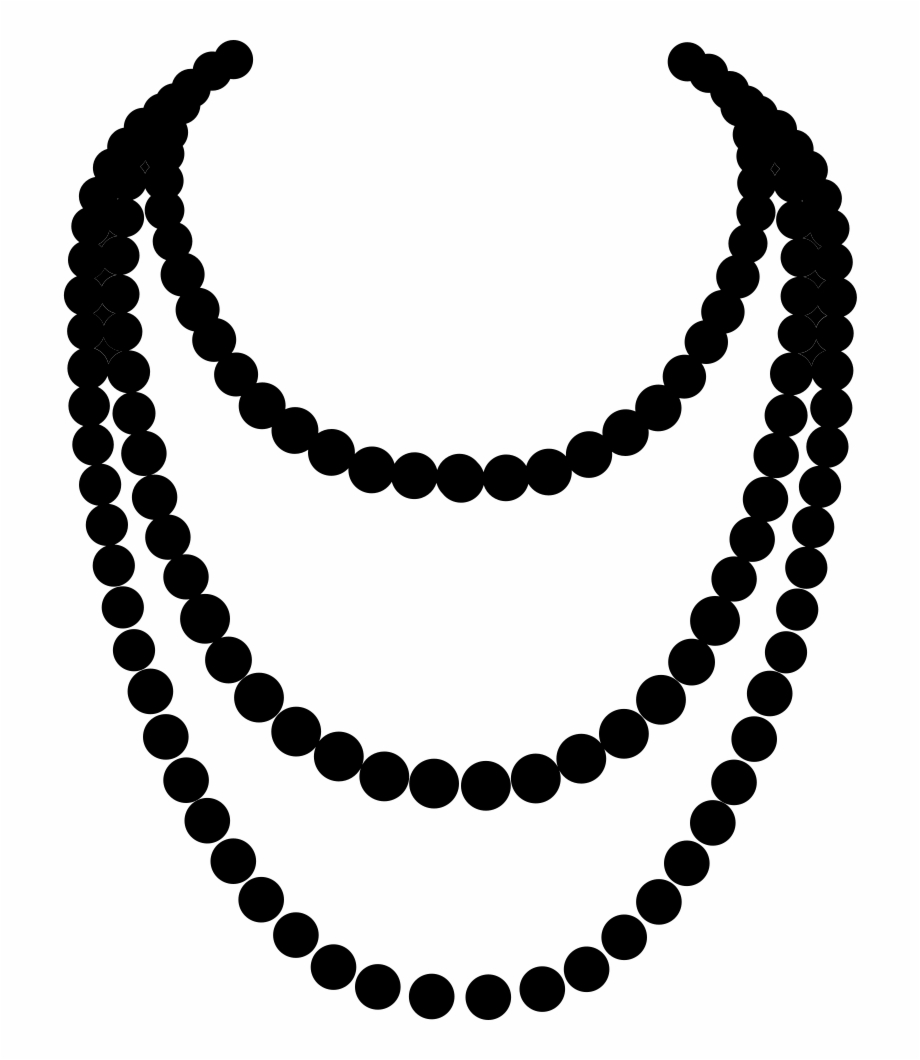 Png Free Download Pearl Necklace Svg Free.
