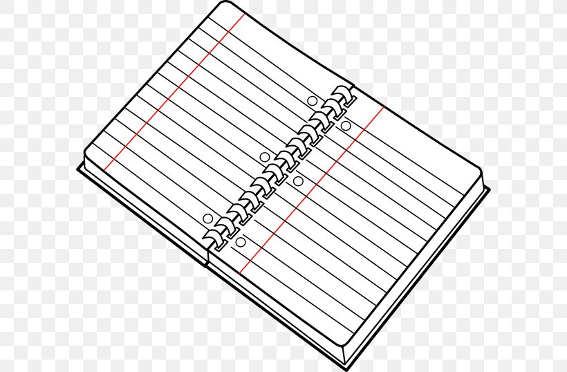 Notebook Paper Drawing Clip Art, PNG, 600x538px, Notebook.