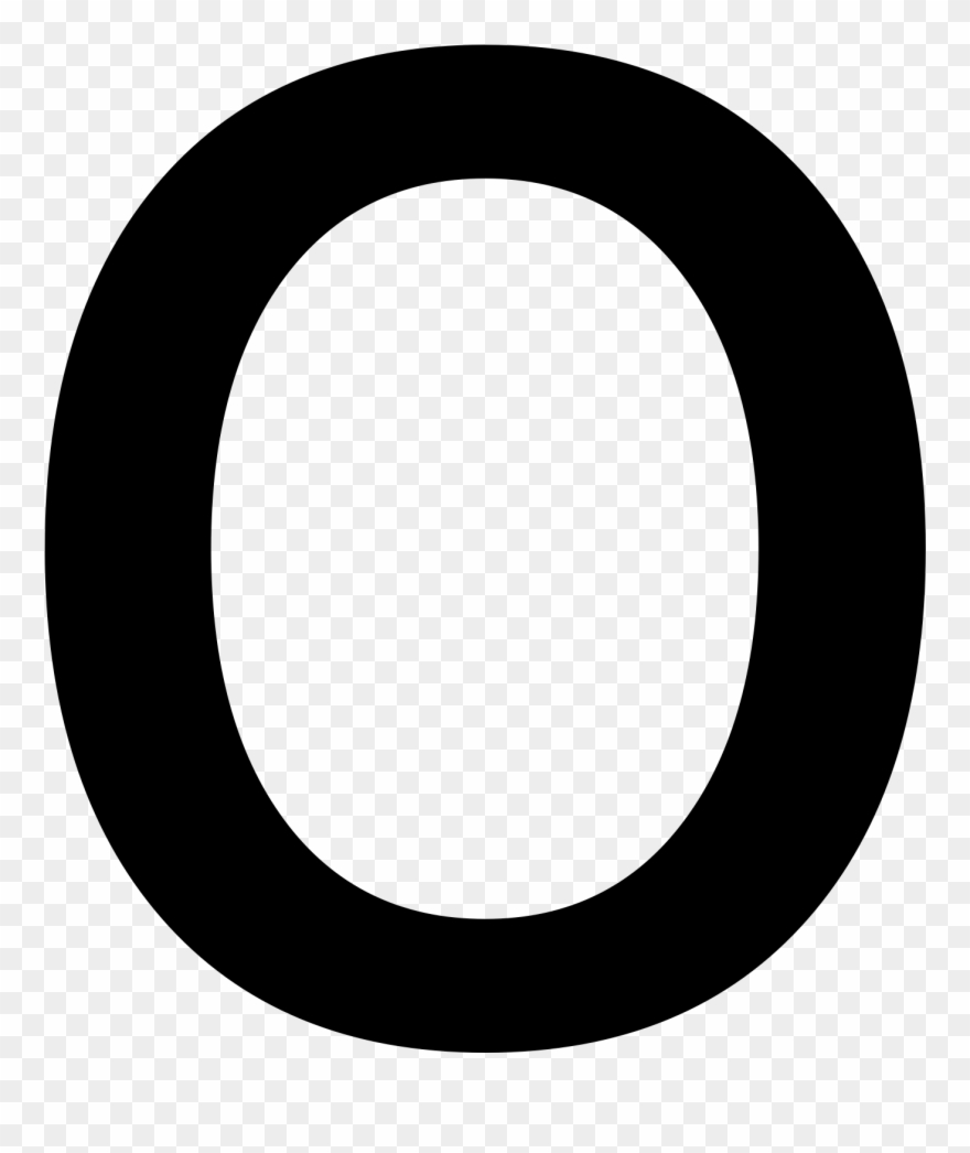 Letter O Png.