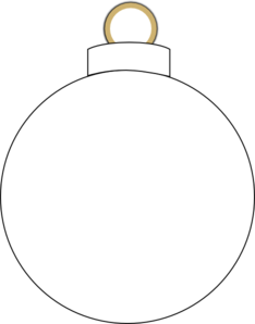 Ornaments Clipart Black And White.