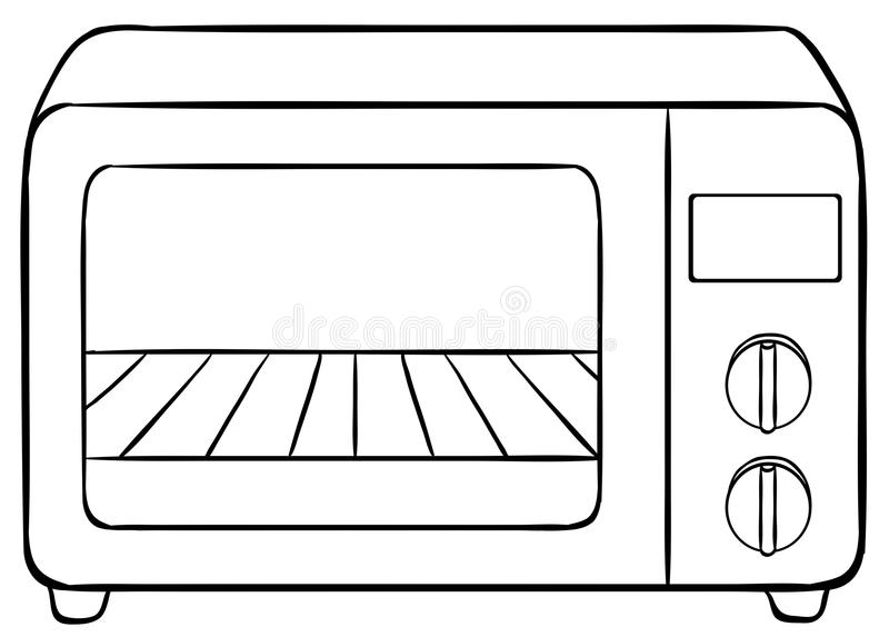 Oven clipart sketch, Oven sketch Transparent FREE for.