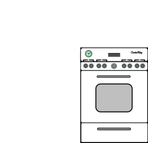 White Oven Clip Art at Clker.com.