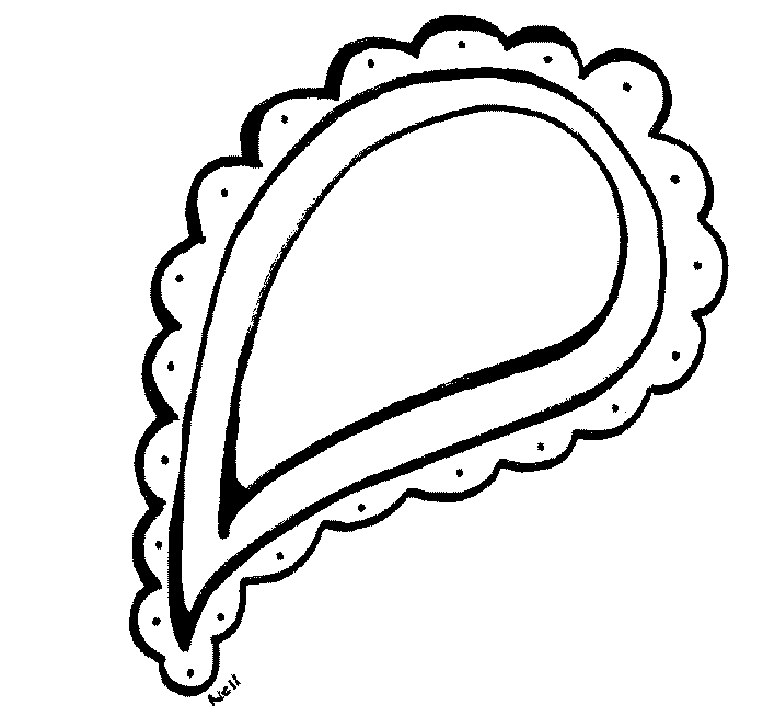 Free Paisley Black And White Clipart, Download Free Clip Art.