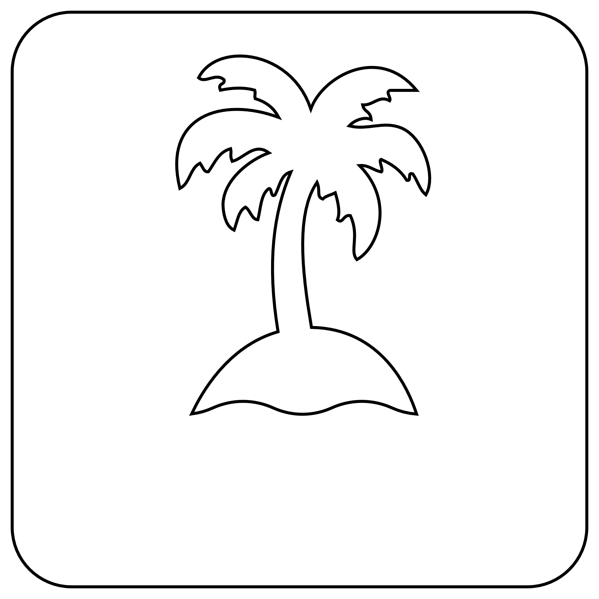 Tree black and white palm tree clipart black and white free.