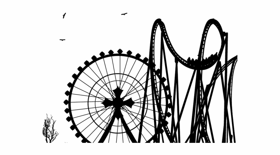 Amusement Park Clipart Drawing Oltalom Alatt Ll.