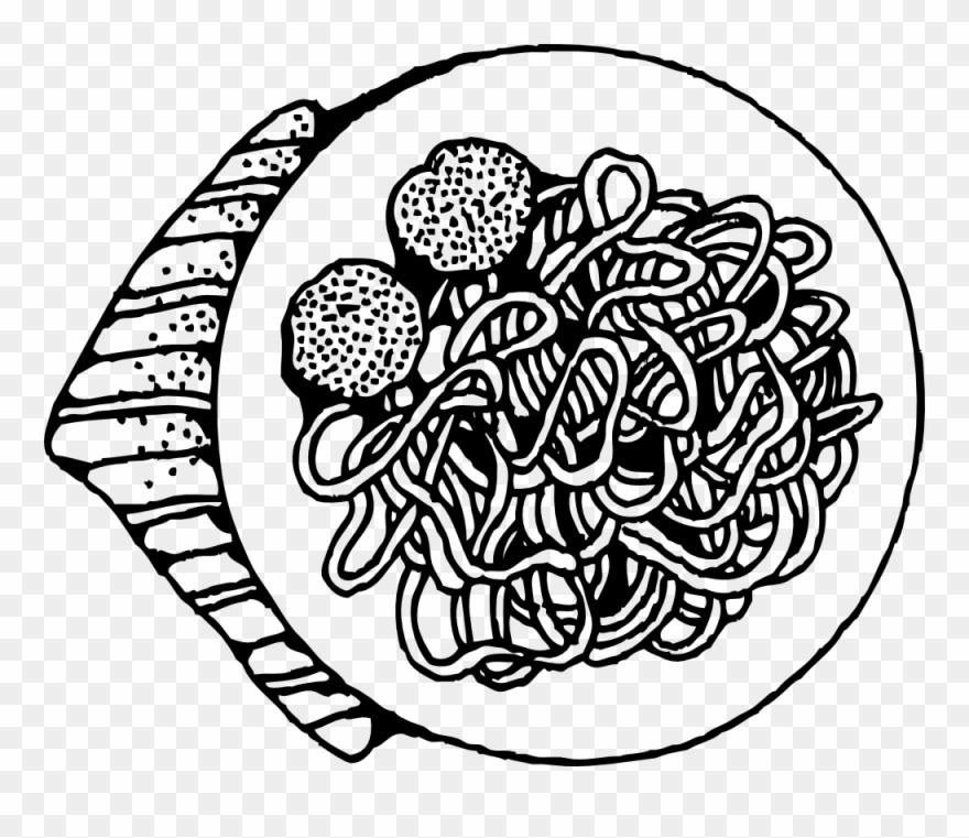 Image For >, Pasta Noodles Clipart.