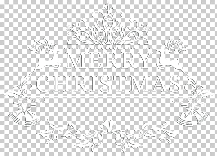 Paper Black and white Pattern, Merry Christmas White.